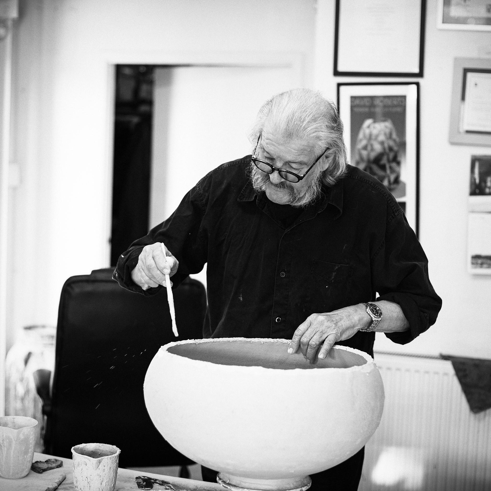 David Roberts - building a large bowl